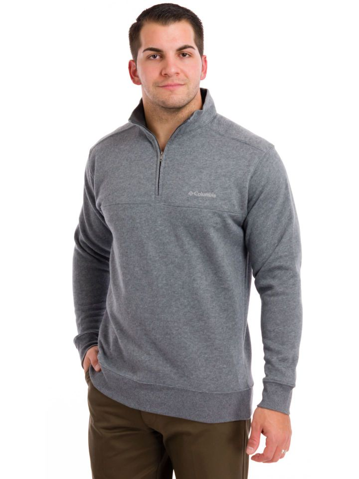 Columbia - Men's Hart Mountain II Half Zip Fleece Pullover - Tall ...