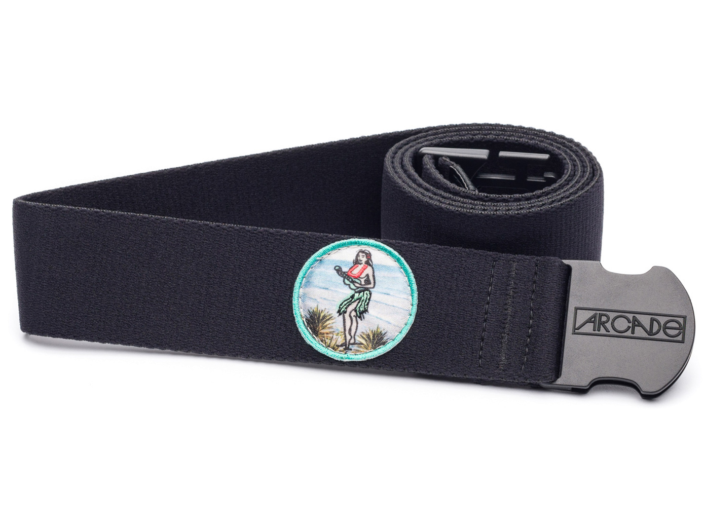 Arcade Belt Co The Rambler Wide Belt - Black - One-Size
