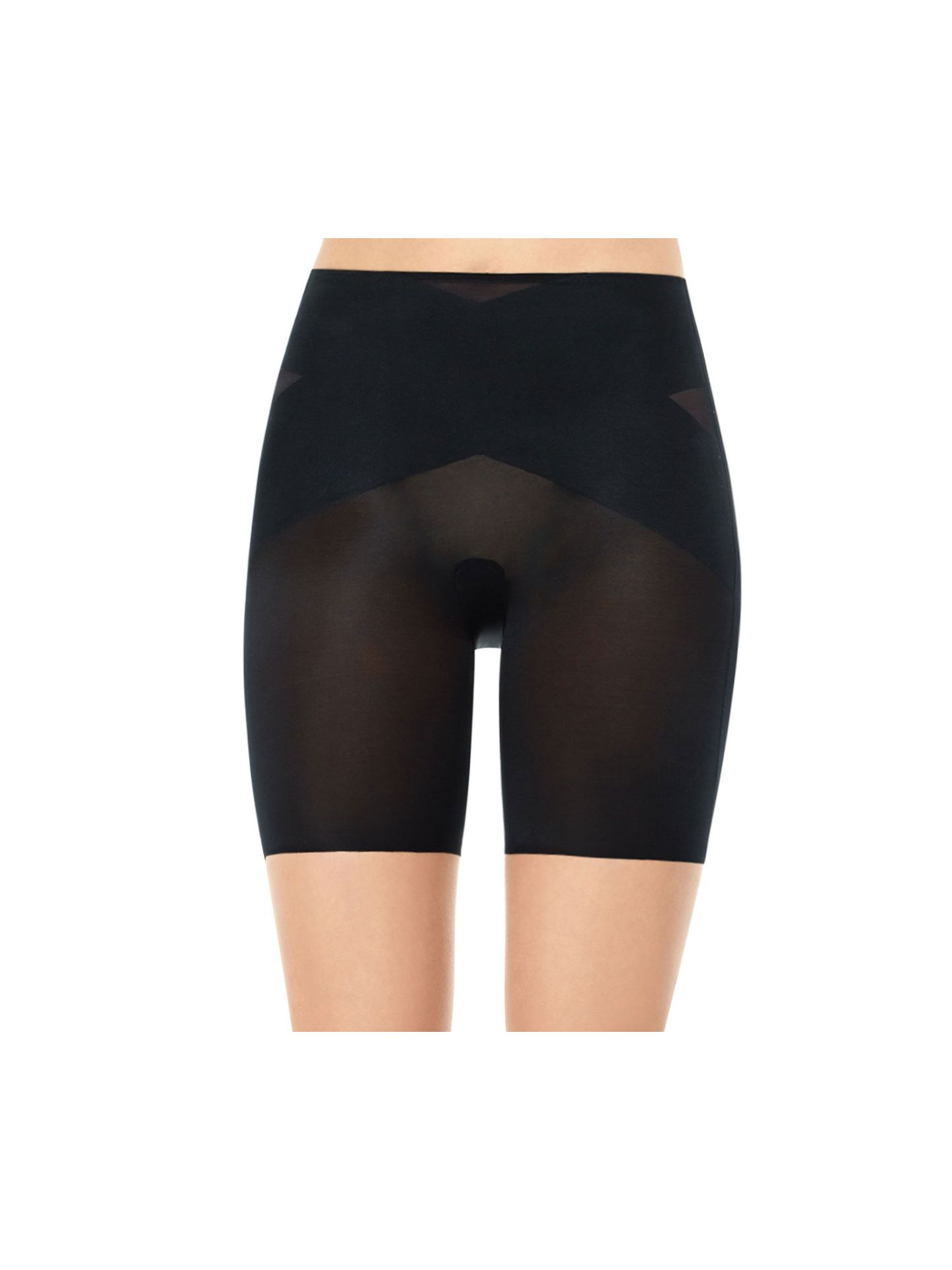 SPANX Skinny Britches Mid-Thigh - Black - Small