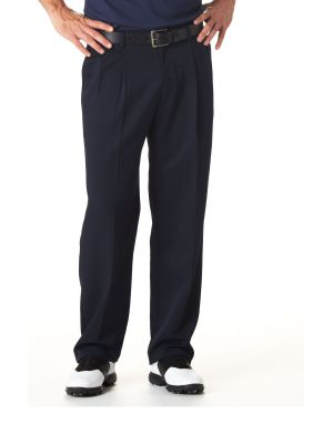 Haggar Men S Cool 18 Expandable Waistband Pleated Pants
