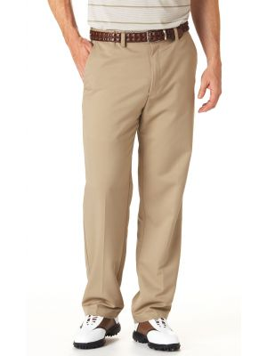 Haggar - Men\u0026#39;s Cool 18 Expandable Waistband Flat Front Pants ...