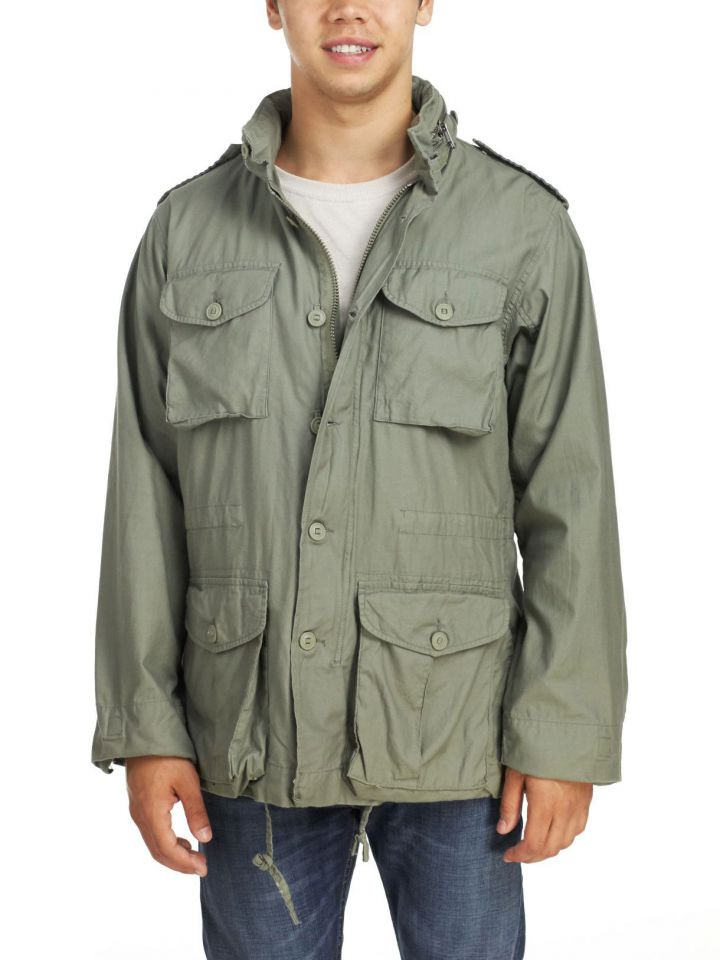 Rothco - Men's Lightweight Vintage M-65 Field Jacket