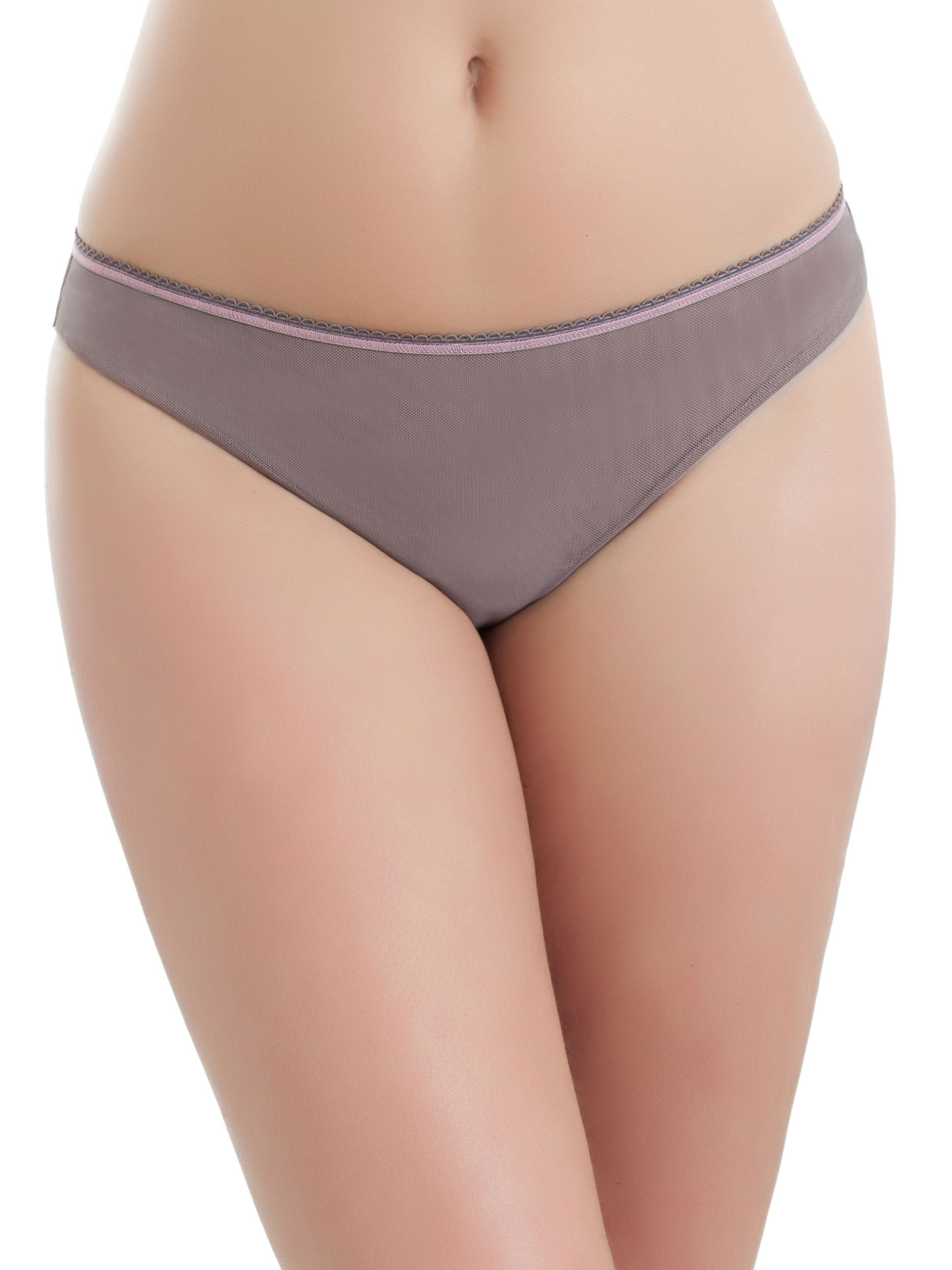 b.tempt'd by Wacoal Women's Perfectly Fabulous Thong - Cappuccino/Crystal - Small