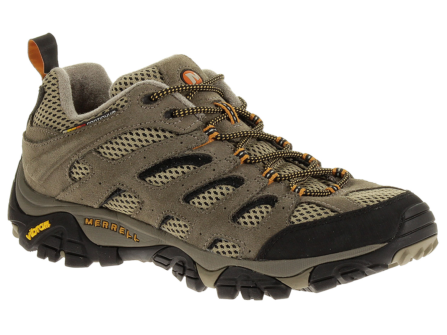 Merrell Men's Moab Ventilator Hiking Shoes - Wide Width - Walnut - 9W