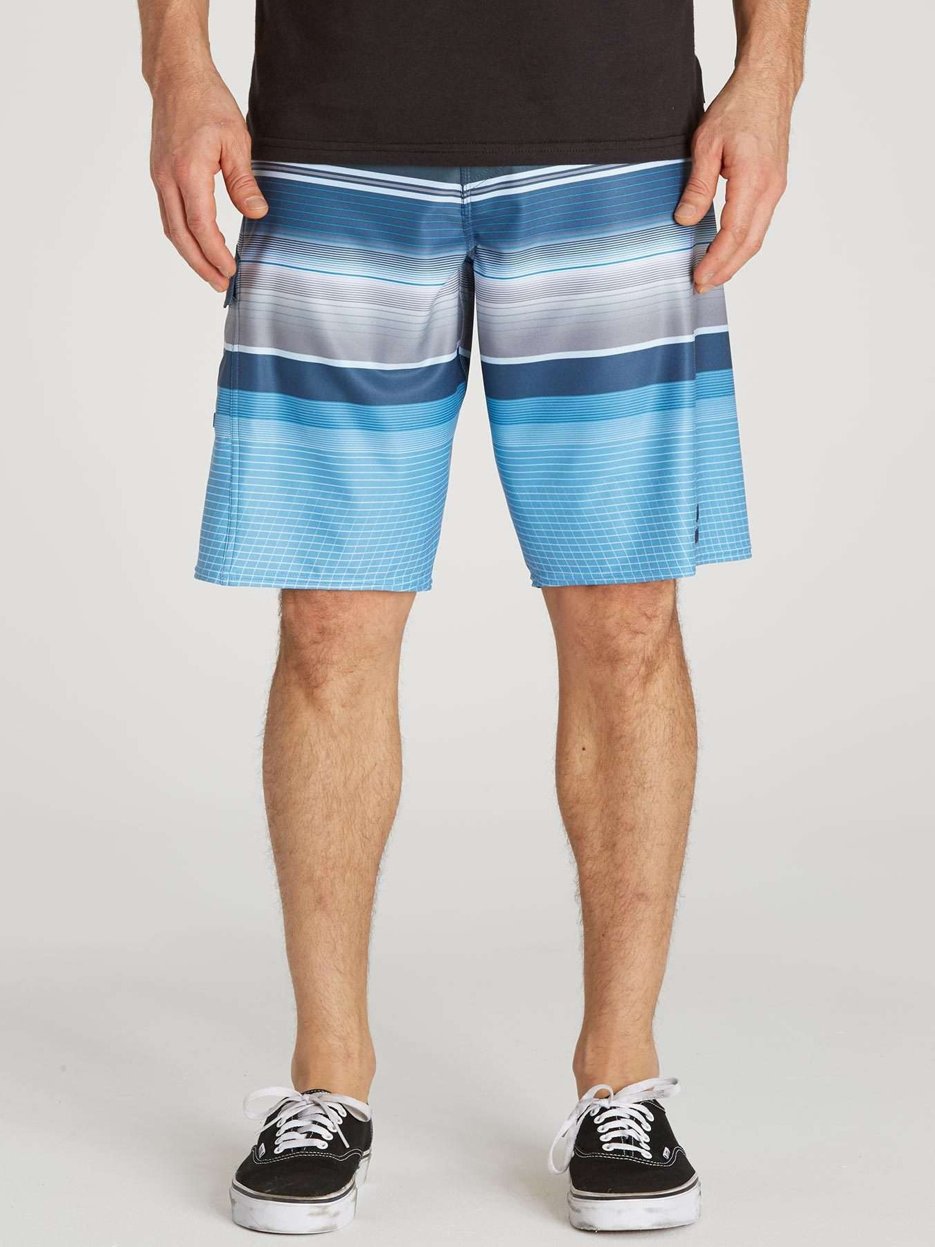 Billabong Men's All Day X Stripe Boardshorts - Blue - 28