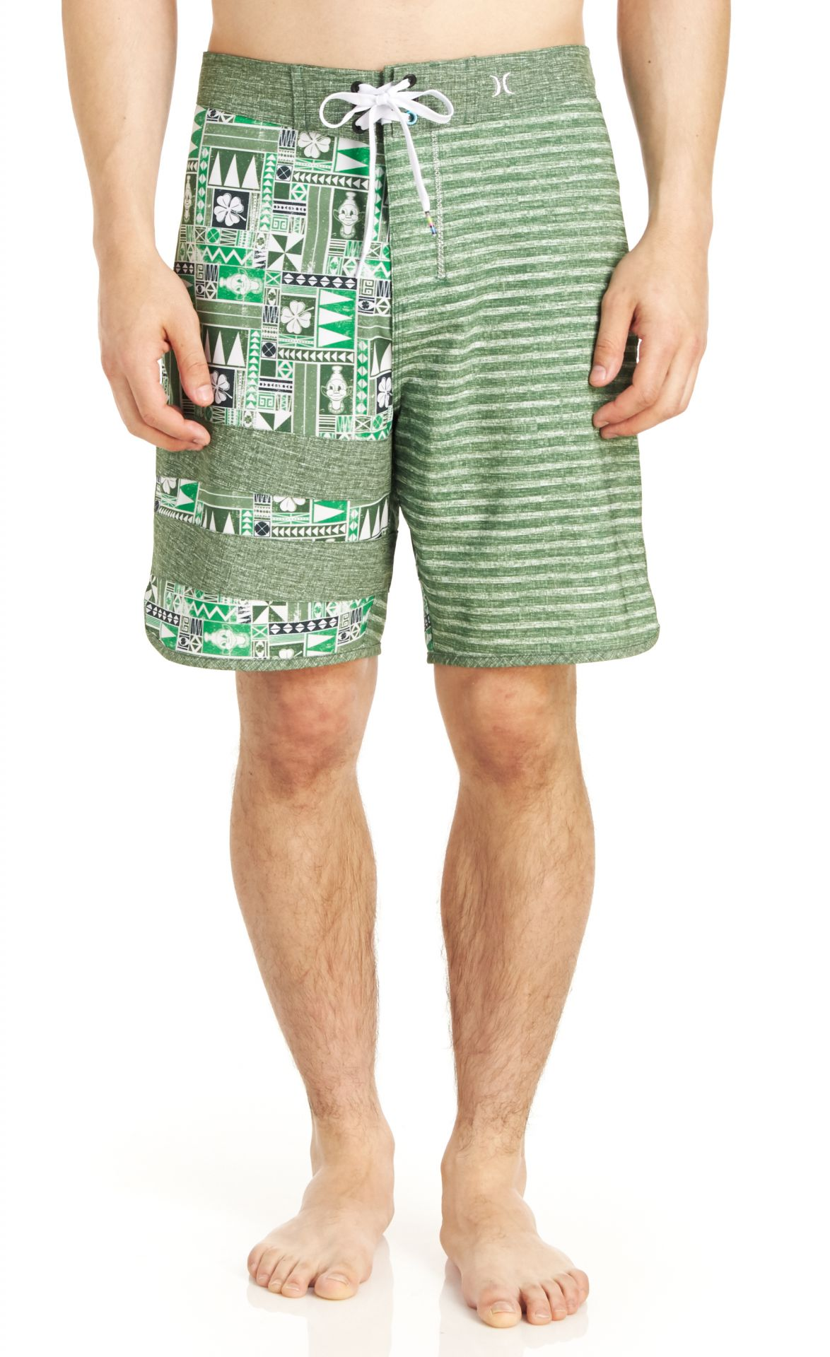 Hurley Men's Phantom Block Party O Hurley Boardshort - Green - 29