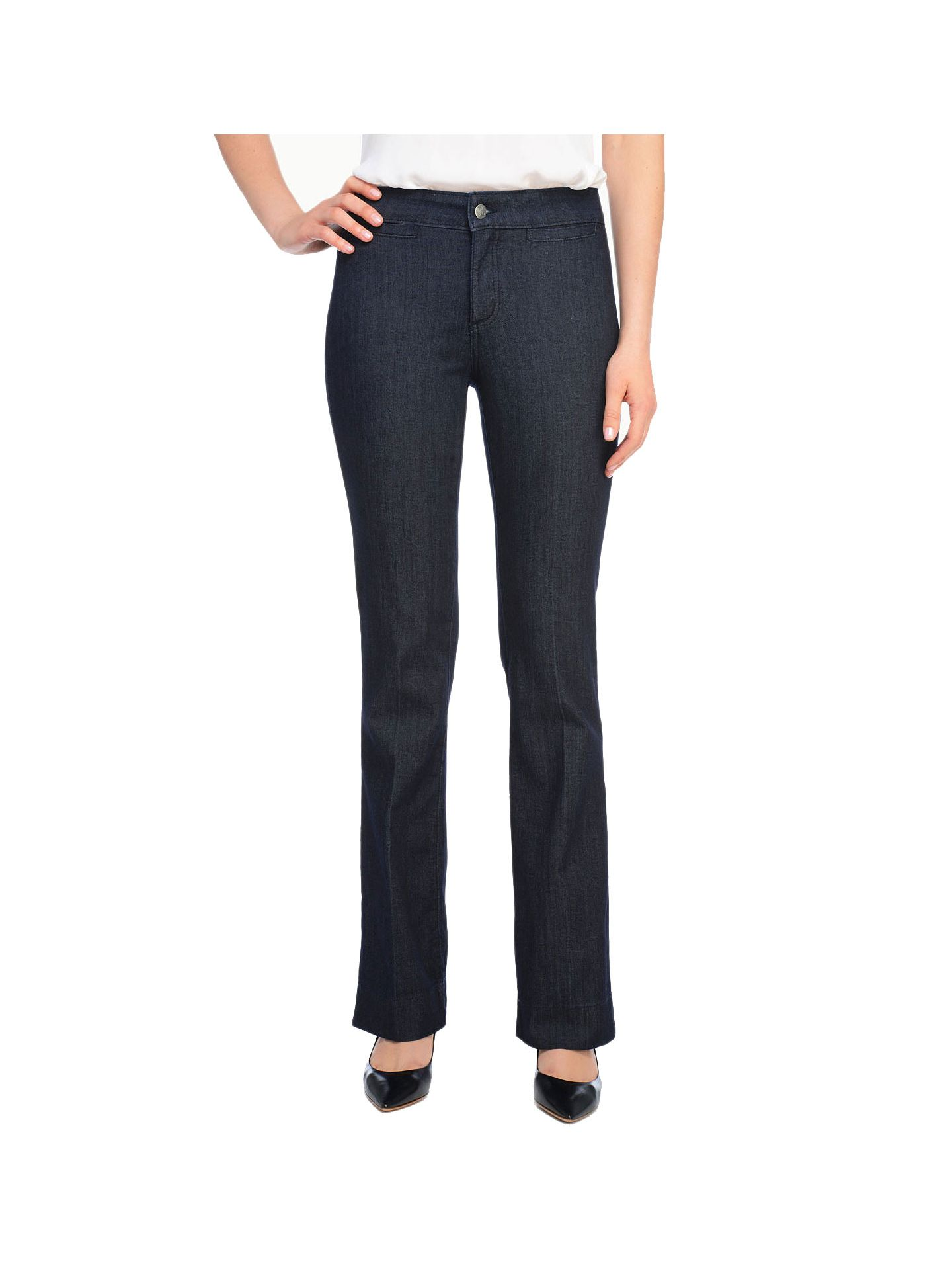 NYDJ Petite Michelle Trousers - Dark Enzyme - 2P