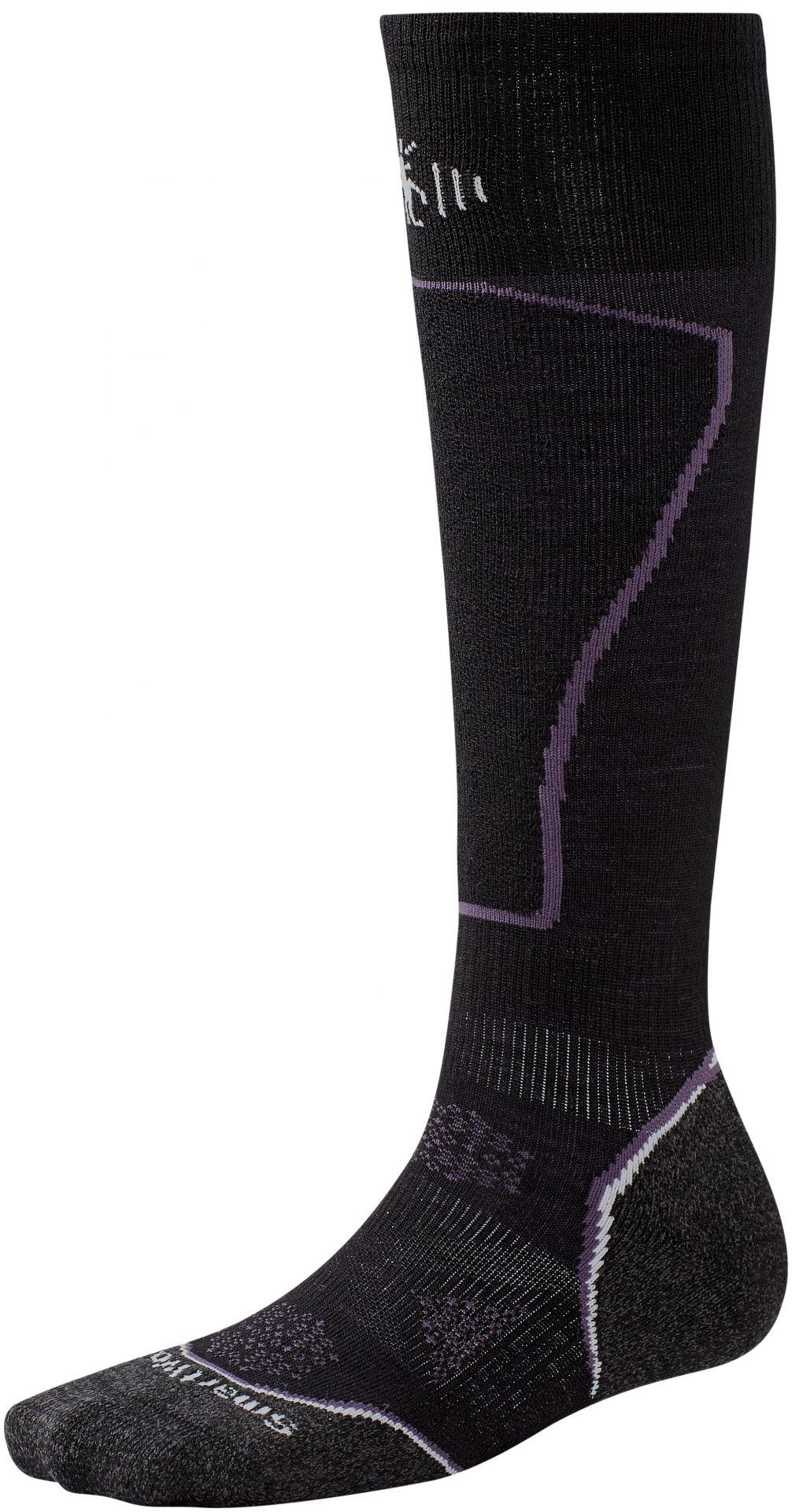 Smartwool Women's PhD Ski Light Socks - Black - Medium