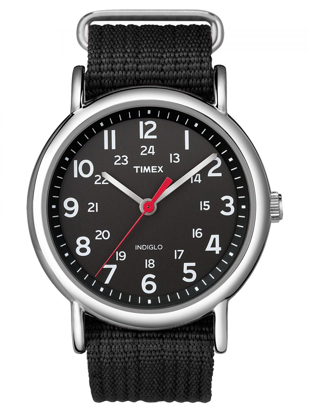 Timex Weekender Slip Thru Watch - Black - One-Size