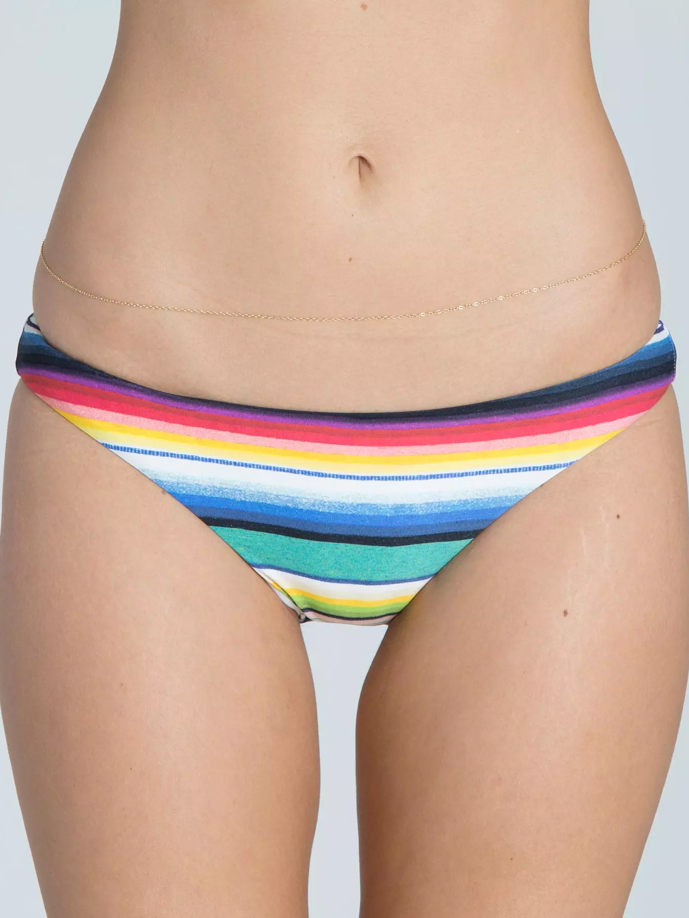 Billabong Rise And Shine Tropic Swim Bottom - Multi - Small
