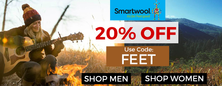 20% off Smartwool
