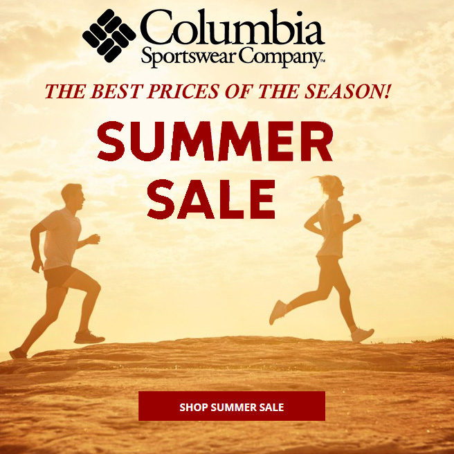 Columbia Summer Sale