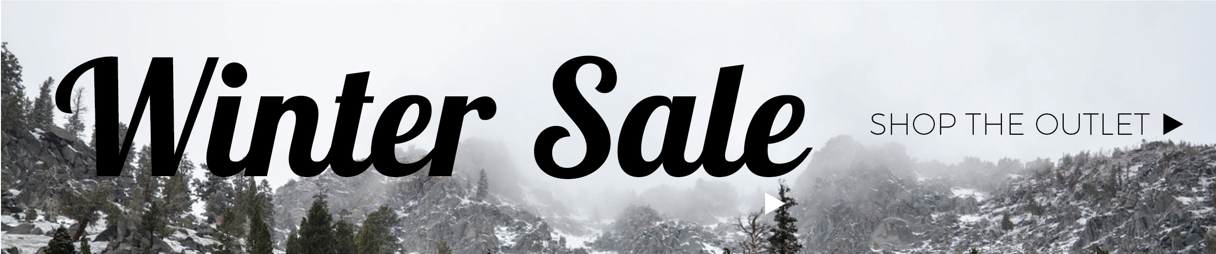 winter outlet sale deals