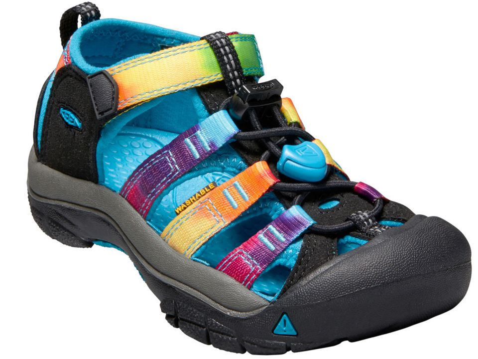 98507c342c48 Keen - Toddler Little Kid Newport H2 Sandals - Rainbow Tie Dye