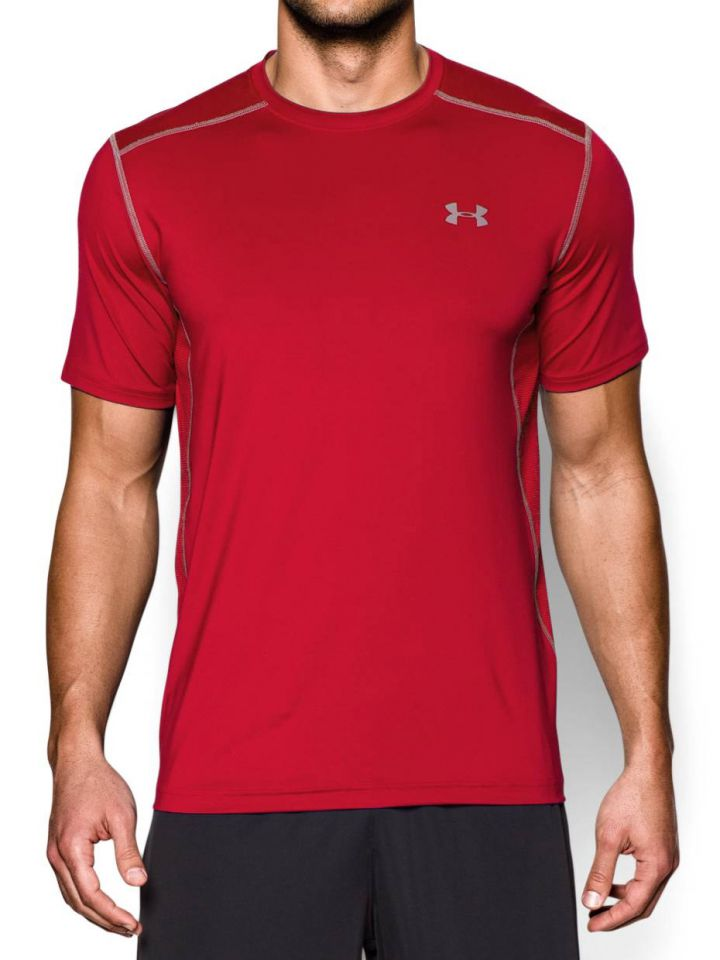 732395c1 Product Information. Stay cool and comfortable while you are working out in  this Under Armour Men's UA Raid Short Sleeve T-Shirt.