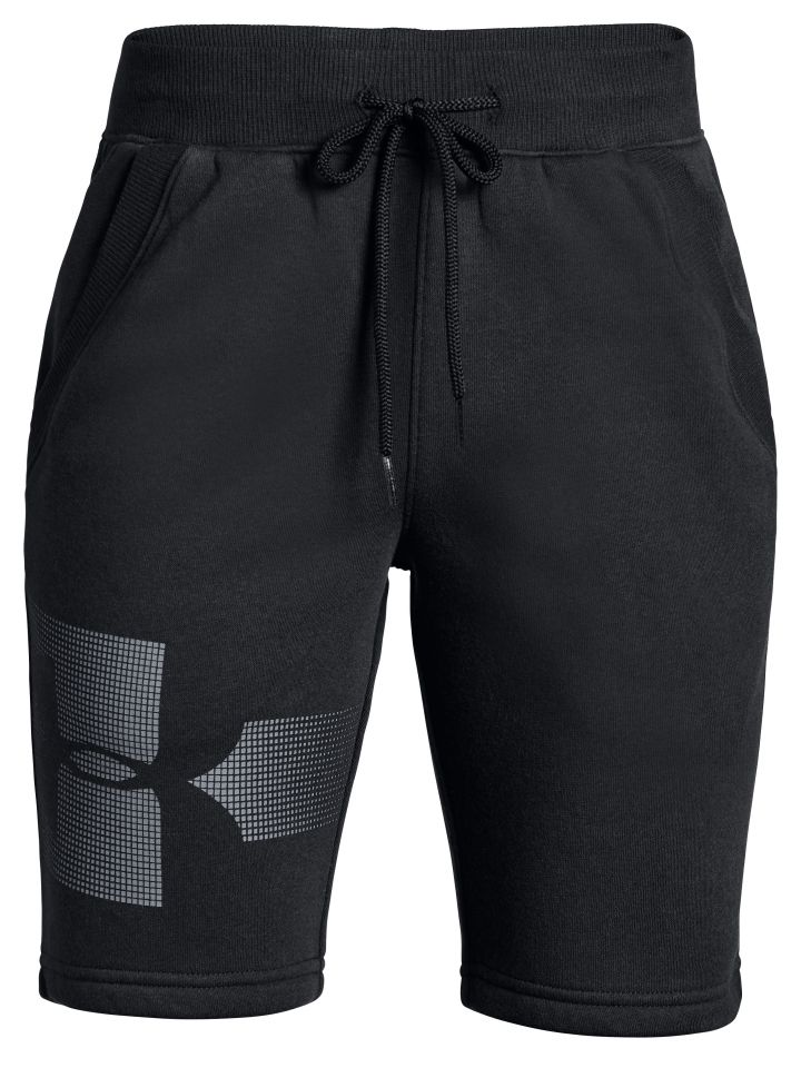 Under Armour UA Rival Fleece Fitted Graphic SM Steel Light Heather