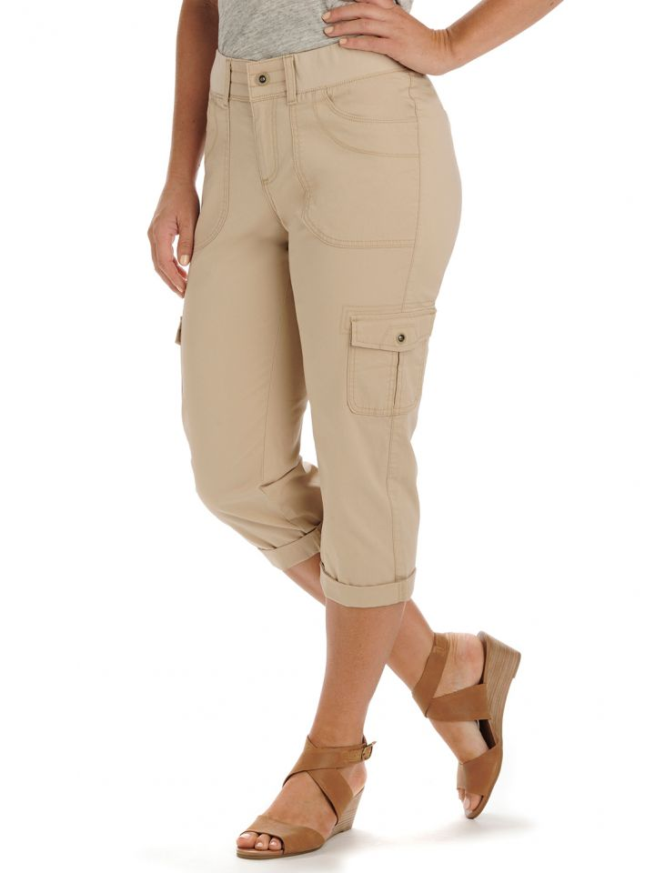 a68b1a6a876 Product Information. Stay comfortable and casual wearing the Lee Women s  Relaxed Fit Austyn Cargo Capri.