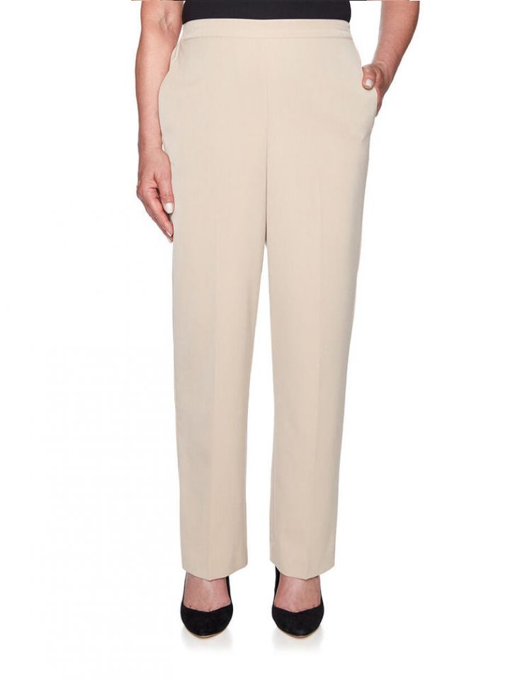 adaaa9898b725 Alfred Dunner - Women s Plus Size Home For Holidays Twill Pants ...