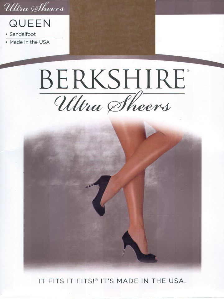 9073dc24aaa Product Information. Style 4413 Berkshire Ultra Sheer Non-Control Top Pantyhose  Sandalfoot ...