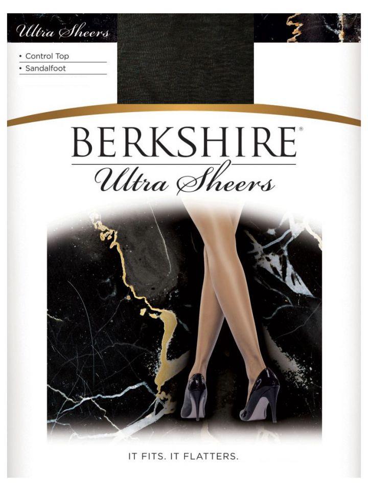 b3e6fec3f53 Product Information. Limited Time Offer! Buy 3 for  25. Berkshire Ultra  Sheer Control Top Pantyhose Sandalfoot ...