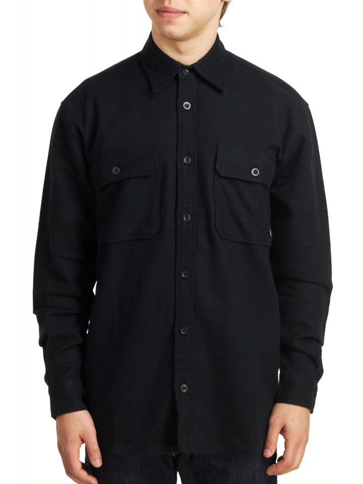 cc38a1f74d6 Product Information. Stay warm on a chilly day with this Rothco Men s Heavy  Weight Solid Flannel Shirt.