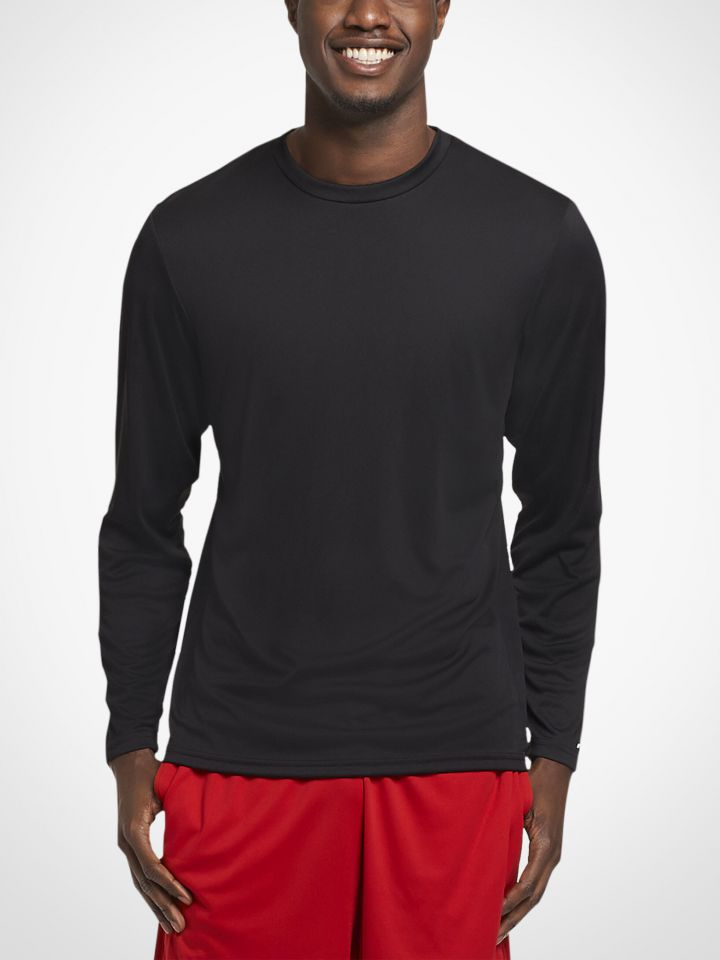 0baa928c5 Product Information. The Russell Athletic Men's Dri-Power Core Performance  Long Sleeve Tee ...