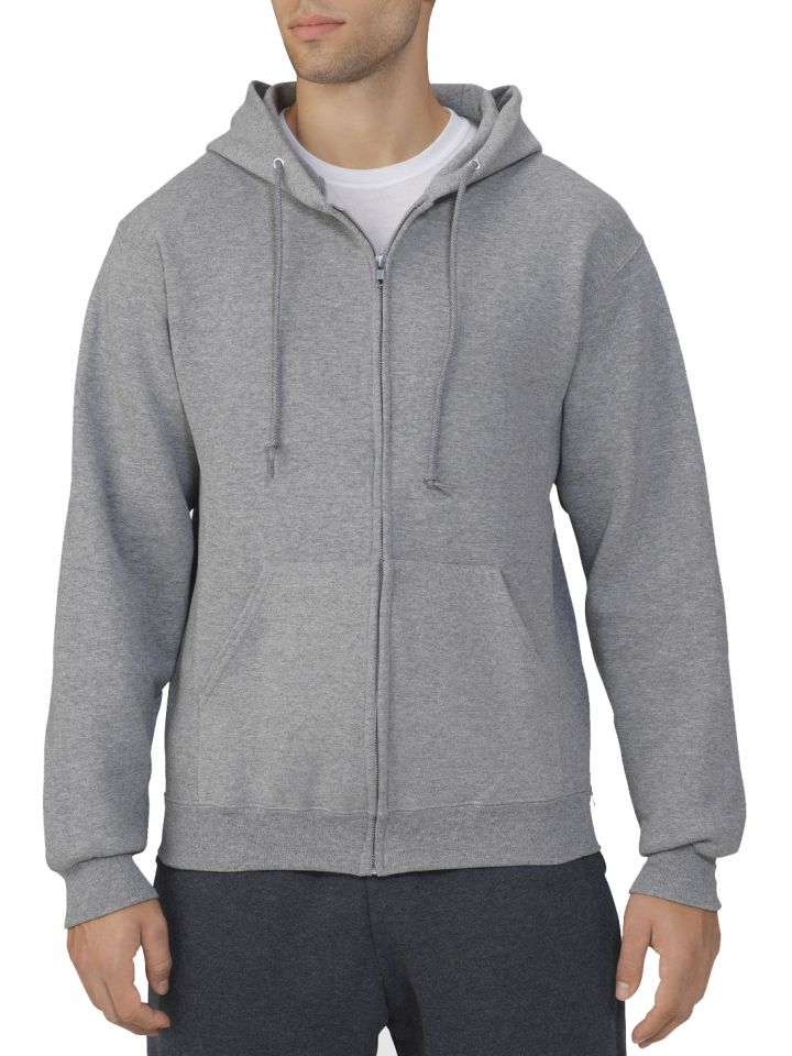 1f32633b8d9 Product Information. This Russell Athletic Dri-Power Fleece Full Zip ...