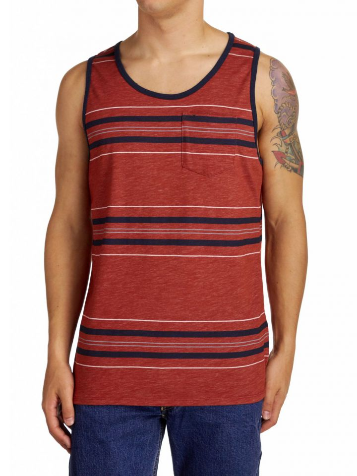 97e625c84a95a8 Product Information. This Hurley Men s Dri-Fit Lagos Yesterday Striped Tank  Top ...