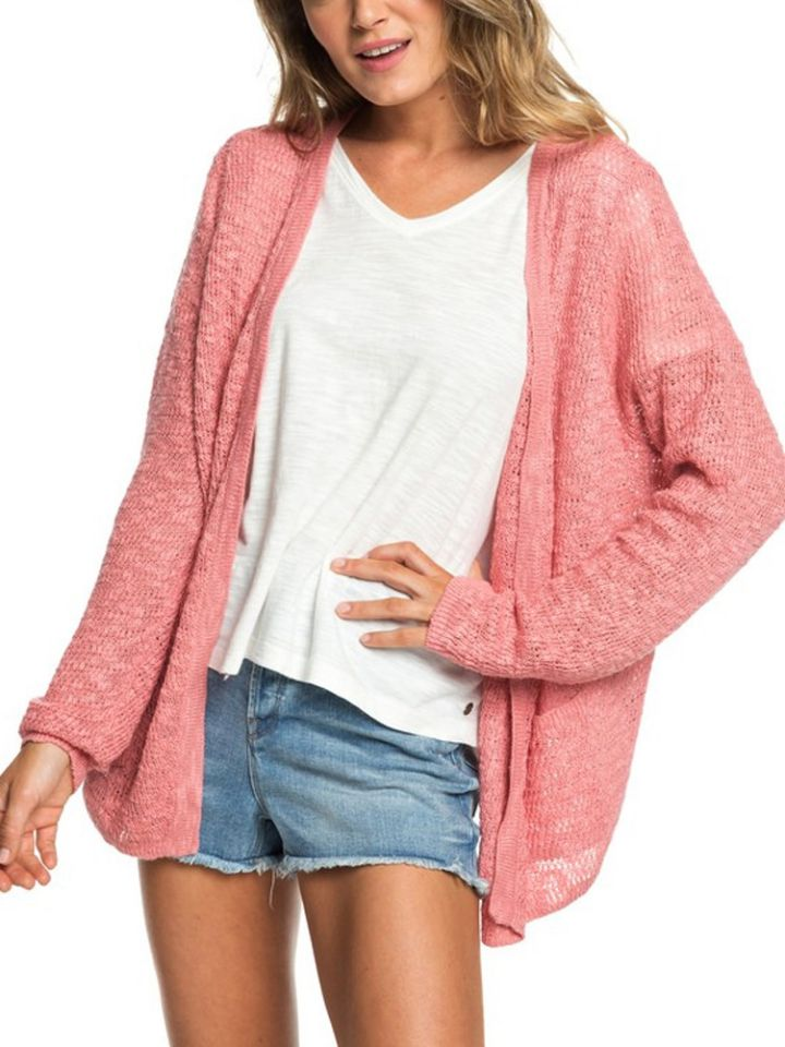 4f21747c Roxy - Liberty Discover Cardigan With Patch Pockets