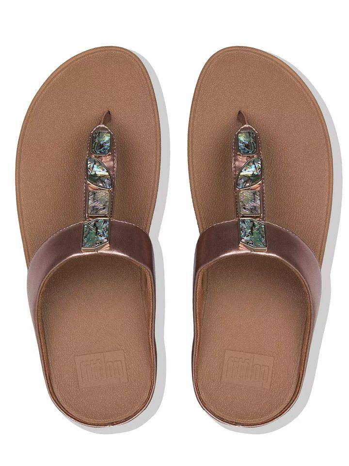 010c31d75a4 FitFlop™ - Women s Fino™ Shellstone Sandals