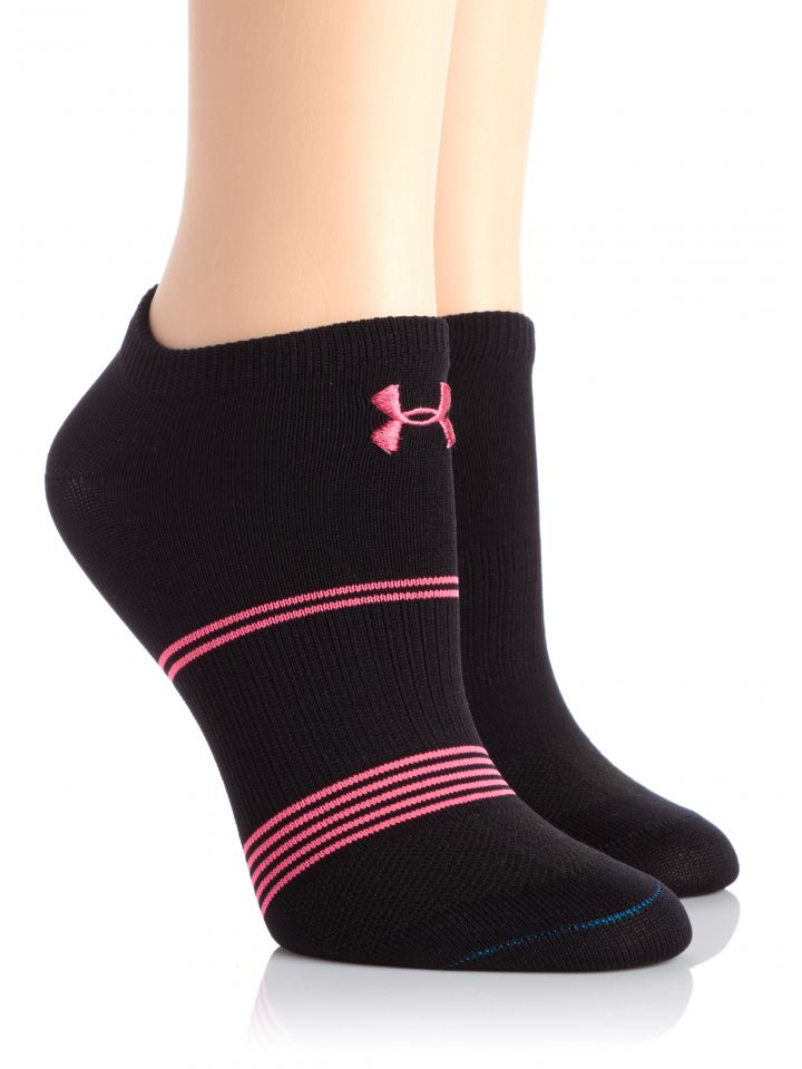 6c7436523 Product Information. Walk with confidence in UA Women's Grippy III No Show  Socks ...