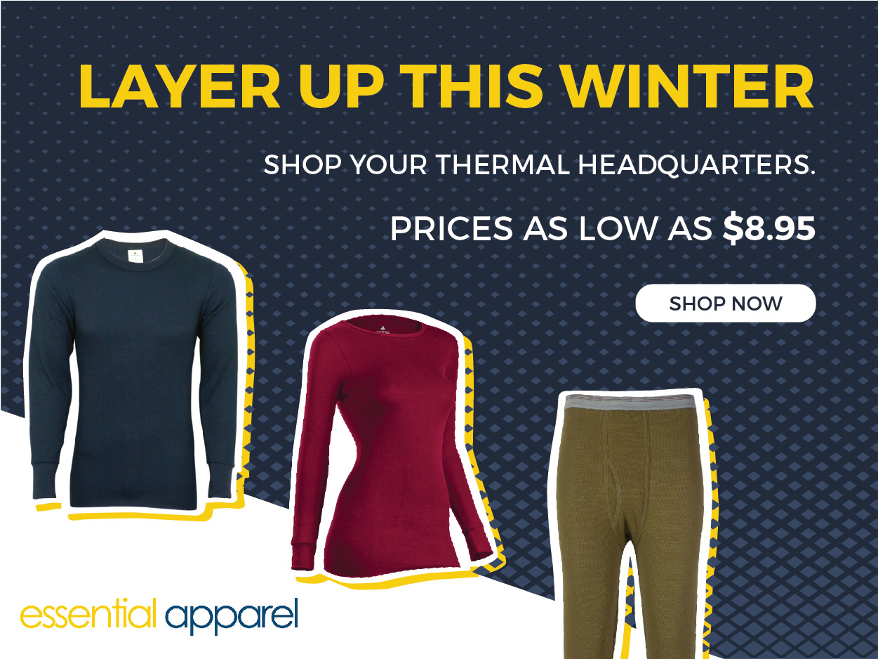 thermal winter sale